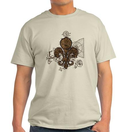 Clockwork Fleur De Lis Light T-Shirt