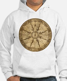 Old Compass Rose Hoodie
