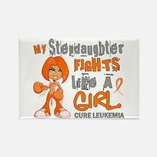 Licensed Fight Like a Girl 42.9 L Rectangle Magnet