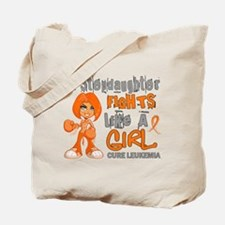 Licensed Fight Like a Girl 42.9 Leukemia Tote Bag