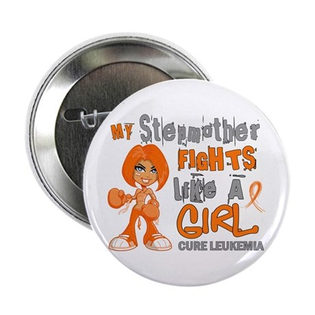 "Licensed Fight Like a Girl 42.9 Leuke 2.25"" Button"
