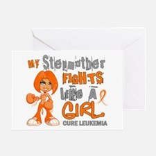 Licensed Fight Like a Girl 42.9 Leuk Greeting Card