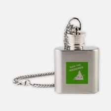 Save the Icebergs Flask Necklace