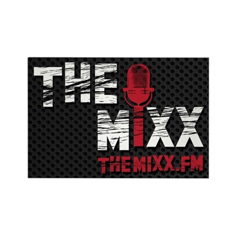 MIXX Logo Rectangle Magnet (10 pack)