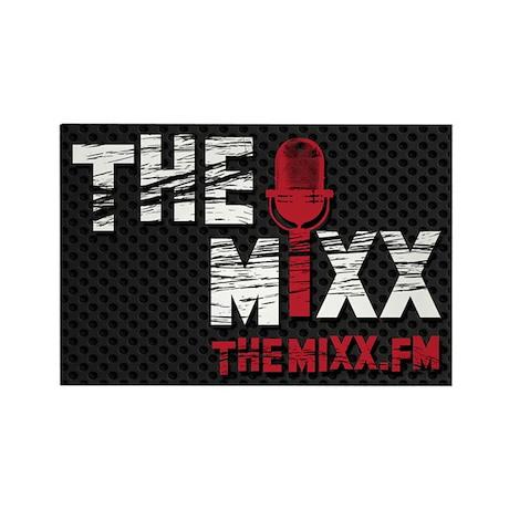 MIXX Logo Rectangle Magnet