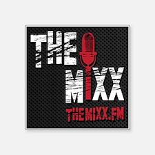 "MIXX Logo Square Sticker 3"" x 3"""