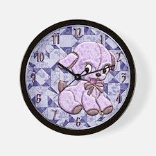 Harvest Moons Heart Puppy Wall Clock