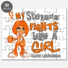 Fights Like a Girl 42.9 Leukemia Puzzle