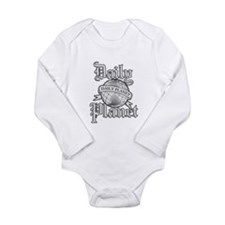 Daily Planet Long Sleeve Infant Bodysuit