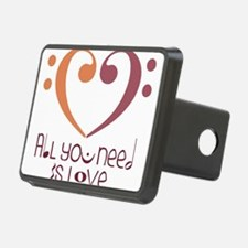 All You Need Is Love Hitch Cover