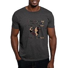 Air Force Girlfriend Heart Camo T-Shirt
