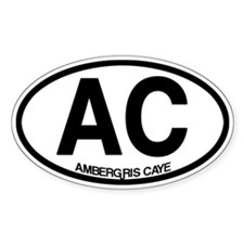 Ambergris Caye Bumper Stickers