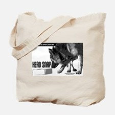 nose work german shepard dog Tote Bag