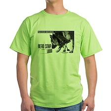 nose work german shepard dog T-Shirt