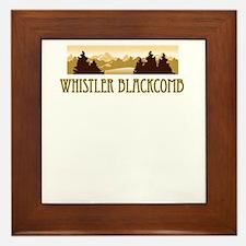 Whistler Blackcomb ski resort truck stop tee Frame