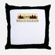 Whistler Blackcomb ski resort truck stop tee Throw