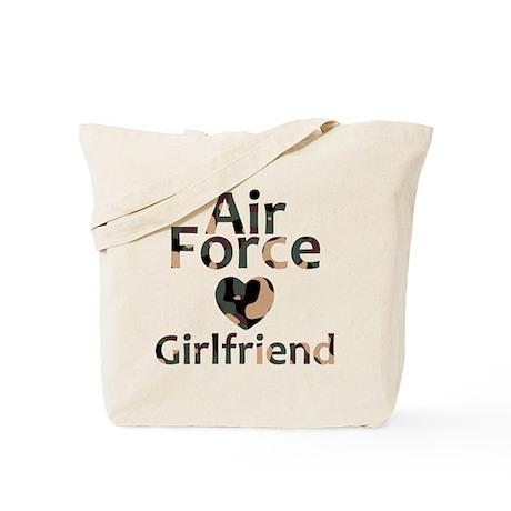 AF Girlfriend Camo Tote Bag