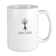 Winter solstice FALL TREE magic pagan wiccan Mug