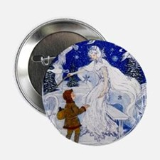 "Snow Queen Enhanced Colors 2.25"" Button"