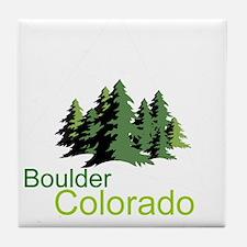 Boulder Colorado truck stop novelty tee Tile Coast