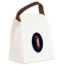 Dachshund Christmas Canvas Lunch Bag