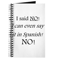 I Said No Journal