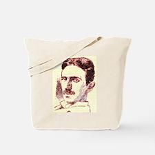 Nikola Tesla Sketch Tote Bag