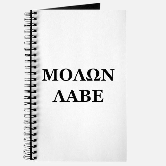 Molon Labe Journal