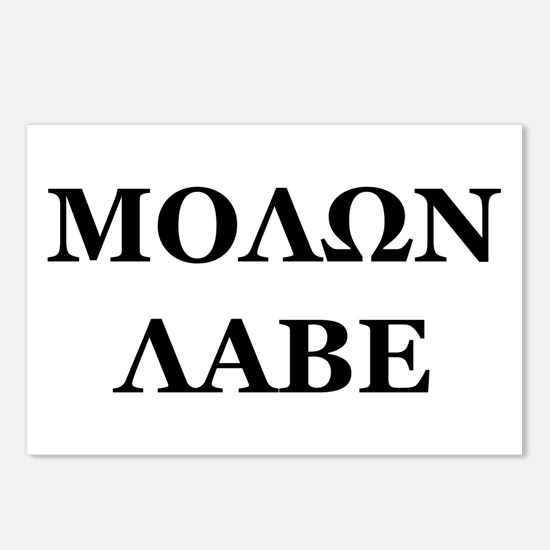Molon Labe Postcards (Package of 8)