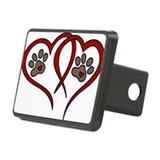 Paw print Hitch Covers
