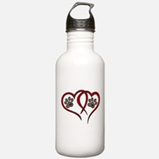 Puppy Love Sports Water Bottle
