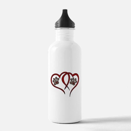 Puppy Love Sports Water Bottle