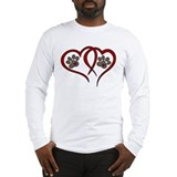 Puppy paw Long Sleeve T-shirts
