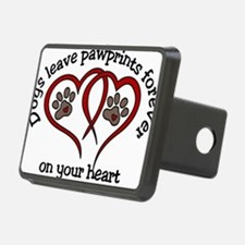 Pawprints Hitch Cover