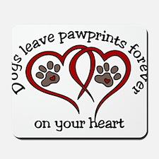 Pawprints Mousepad