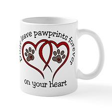 Pawprints Mug