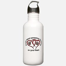 Pawprints Water Bottle