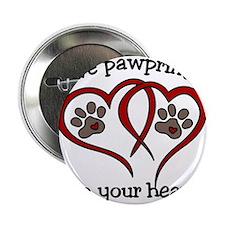 """Pawprints 2.25"""" Button"""