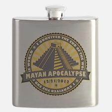 Mayan Apocalypse Flask