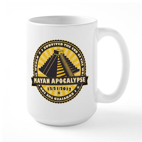 Mayan Apocalypse Large Mug