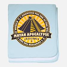 Mayan Apocalypse baby blanket