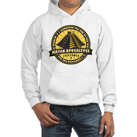 Mayan Apocalypse Hooded Sweatshirt