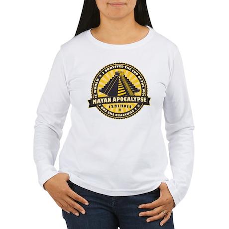 Mayan Apocalypse Women's Long Sleeve T-Shirt