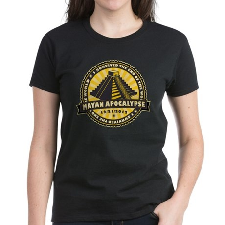 Mayan Apocalypse Women's Dark T-Shirt