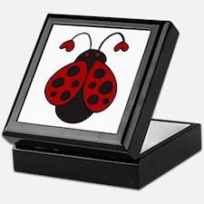 Ladybug Bug Keepsake Box