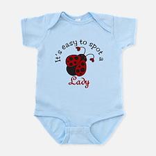 A Lady Infant Bodysuit
