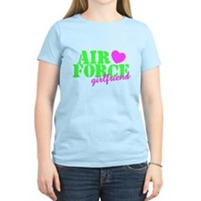AF GF Lime Green Pink Heart T-Shirt
