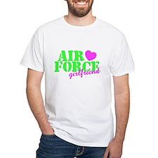AF GF Lime Green Pink Heart Shirt