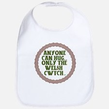 Hug & Cwtch With A Celtic Twist Bib