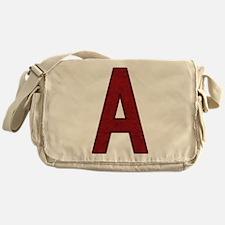 Scarlet Letter A Messenger Bag